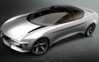 Noua creație a lui Giugiaro: conceptul Sybilla este un sedan electric ce va fi prezentat la Geneva