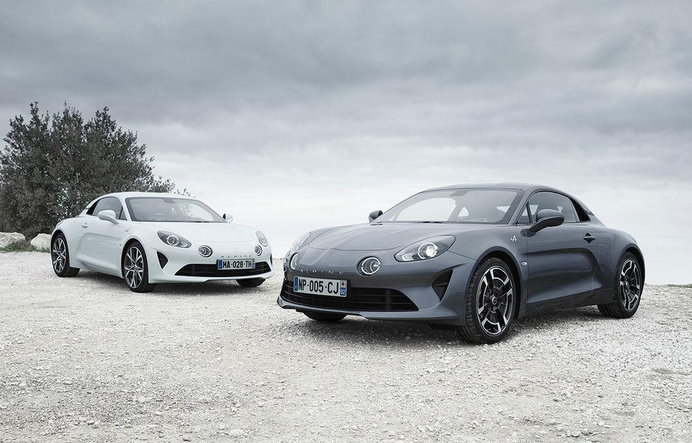 Alpine A110 Pure și A110 Légende: două versiuni speciale dedicate primului coupe din relansata gamă a mărcii franceze - Poza 1