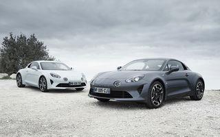 Alpine A110 Pure și A110 Légende: două versiuni speciale dedicate primului coupe din relansata gamă a mărcii franceze