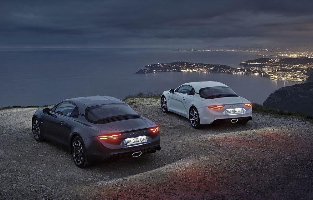 Alpine A110 Pure și A110 Légende: două versiuni speciale dedicate primului coupe din relansata gamă a mărcii franceze - Poza 2