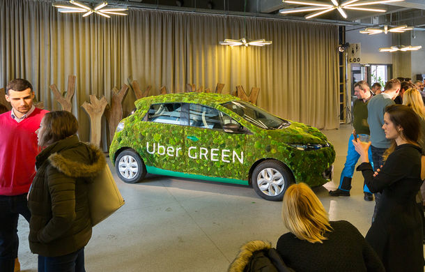 Uber a lansat serviciul UberGreen în București: cum călătorești cu mașini electrice Renault Zoe cu 1.65 lei/km - Poza 1