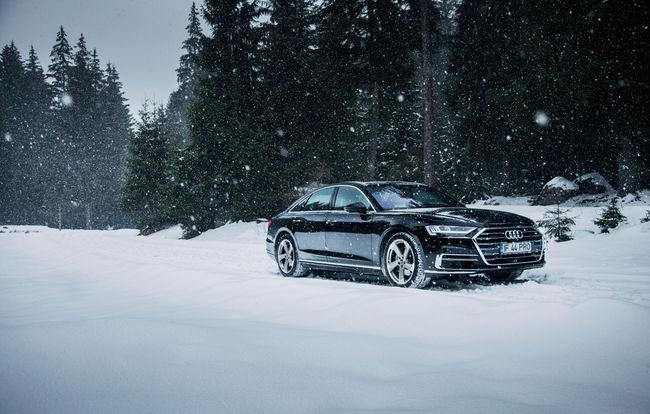 Test drive Audi A8