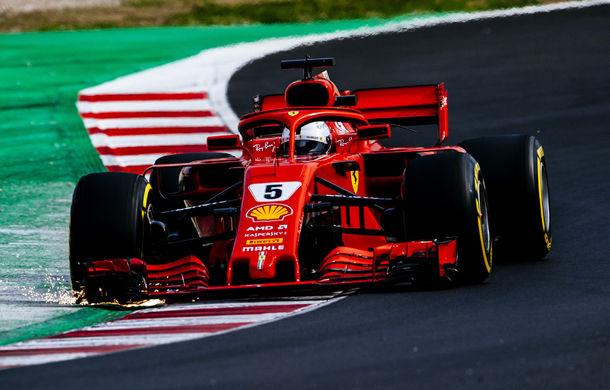 Vettel, cel mai rapid în a doua zi de teste de la Barcelona: o nouă defecțiune tehnică pentru McLaren - Poza 1