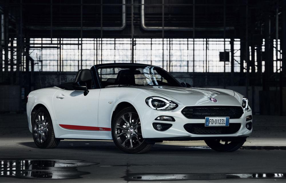 Fiat lansează noi pachete speciale: S-Design pentru 124 Spider, 500X și Tipo; Mirror pentru gama 500 - Poza 1