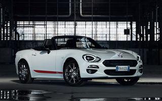 Fiat lansează noi pachete speciale: S-Design pentru 124 Spider, 500X și Tipo; Mirror pentru gama 500