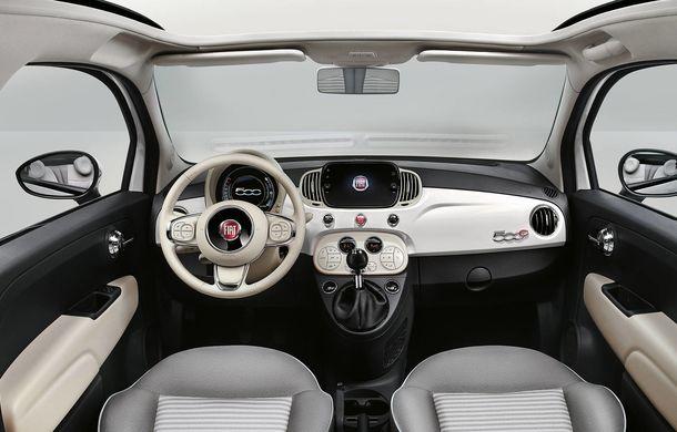 Fiat 500 Collezione: ediție specială cu diferite scheme de culori care marchează longevitatea modelului - Poza 7