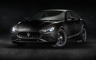Maserati prezintă modelele Ghibli, Quattroporte și Levante în varianta Nerissimo Edition: serie limitată ce emană eleganță și sportivitate