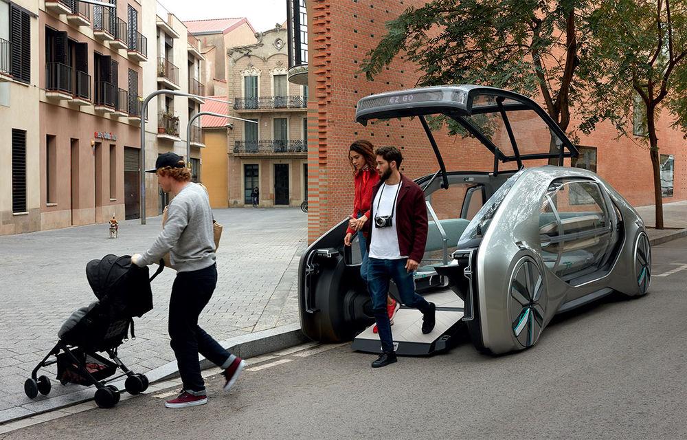 Renault EZ-GO Concept: autobuzul urban al viitorului e aici - Poza 1