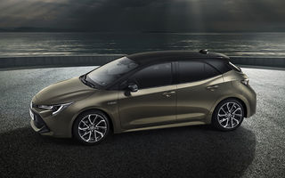 Noua generație Auris revoluționează gama Toyota: două versiuni hibride, una de 122, cealaltă de 180 CP