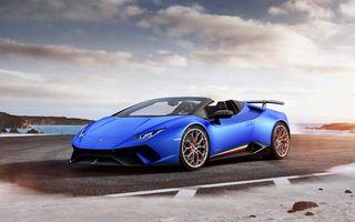 Lamborghini Huracan Performante Spyder: sistem aerodinamic activ, mai ușor cu 35 de kilograme și 640 de cai putere