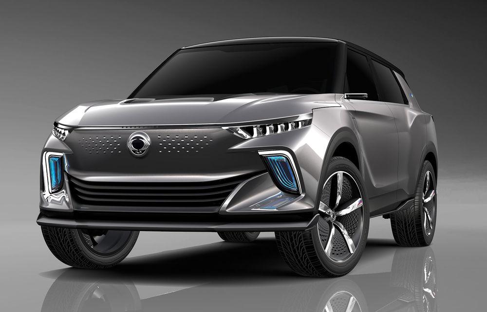 Ssangyong e-SIV: conceptul anunță un SUV electric cu 190 CP și autonomie de 450 de kilometri - Poza 1