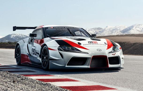 Toyota GR Supra Racing: conceptul care anunță renașterea legendarului Supra - Poza 1