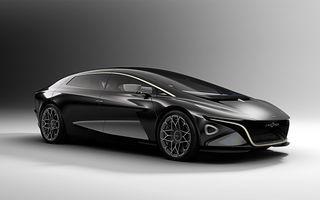 Aston Martin prezintă Lagonda Vision Concept: preview pentru prima electrică Aston Martin, care apare în 2021