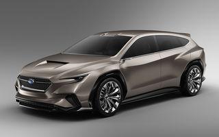 Subaru Viziv Tourer Concept: prototipul anunță lansarea unui nou break al constructorului japonez