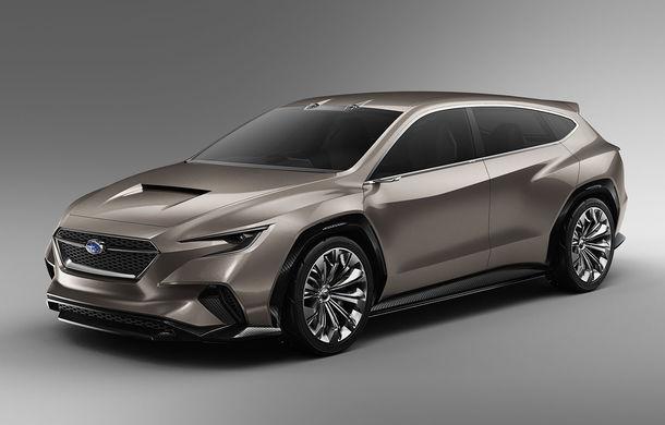 Subaru Viziv Tourer Concept: prototipul anunță lansarea unui nou break al constructorului japonez - Poza 1