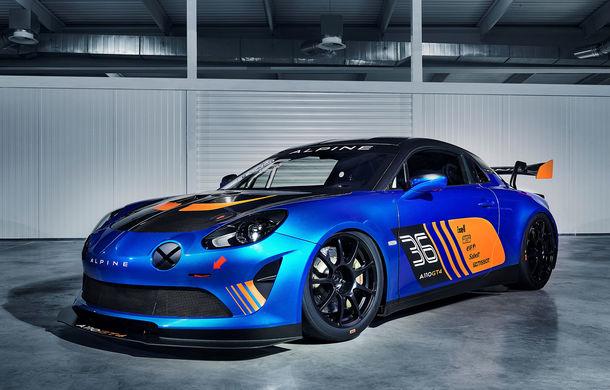 Alpine A110 GT4: francezii au lansat la Geneva al doilea model destinat circuitelor - Poza 1