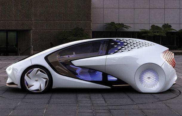 Toyota Concept-i: concept cu inteligența artificială care înțelege comportamentul uman - Poza 1
