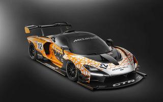 McLaren Senna GTR Concept a ajuns la Geneva: prototipul anunță un viitor model dezvoltat exclusiv pentru circuit
