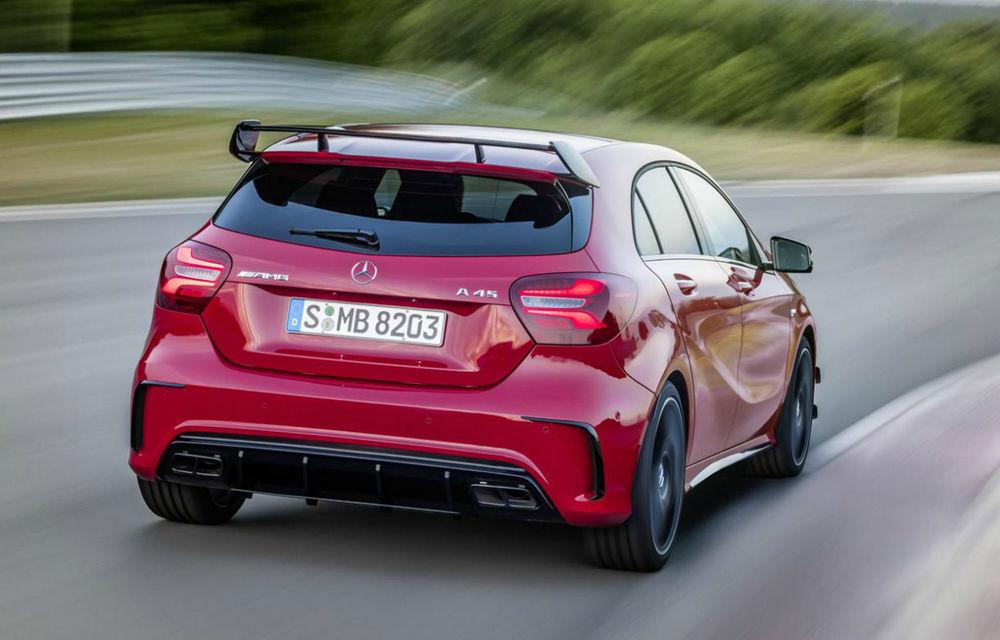 Informații noi despre viitorul Mercedes-AMG A45: motor nou de 2.0 litri și peste 400 CP - Poza 1