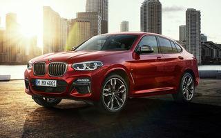 Noul BMW X4 este disponibil și în România: prețurile pornesc de la 49.000 de euro