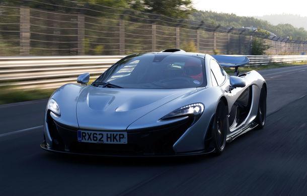 Un McLaren P1 din 2014 a fost vândut cu 1.7 milioane de dolari la o licitație: exemplarul avea sub 600 de kilometri la bord - Poza 1