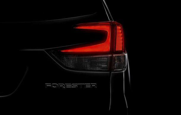 Primul teaser cu noul Subaru Forester: modelul va fi dezvăluit pe 28 martie - Poza 1