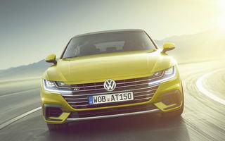Volkswagen Arteon ar putea primi o versiune break: designul a fost deja finalizat
