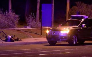 """Prima victimă făcută de o mașină autonomă: un Volvo XC90 de la Uber a acroșat fatal o femeie în SUA. Poliție: """"Accidentul era greu de evitat"""""""