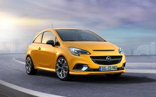 Opel Corsa GSi revine în oferta constructorului german: un look mai agresiv și setări preluate de pe versiunea OPC