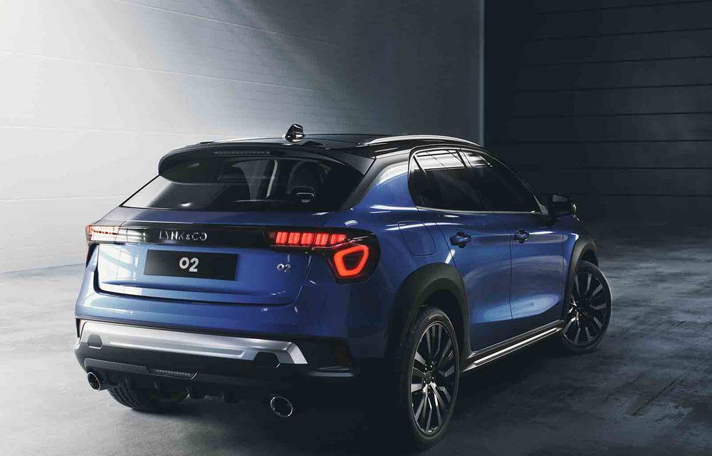 Lynk&Co a prezentat noul SUV 02: modelul chinezilor ajunge în Europa în 2020 - Poza 4