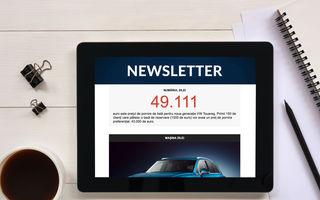 Descoperă noul Newsletter Automarket: noutățile zilei, alese manual de specialiștii noștri