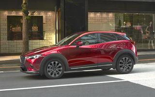 Recunoașteți diferențele: Mazda CX-3 primește o actualizare estetică și tehnologică minoră