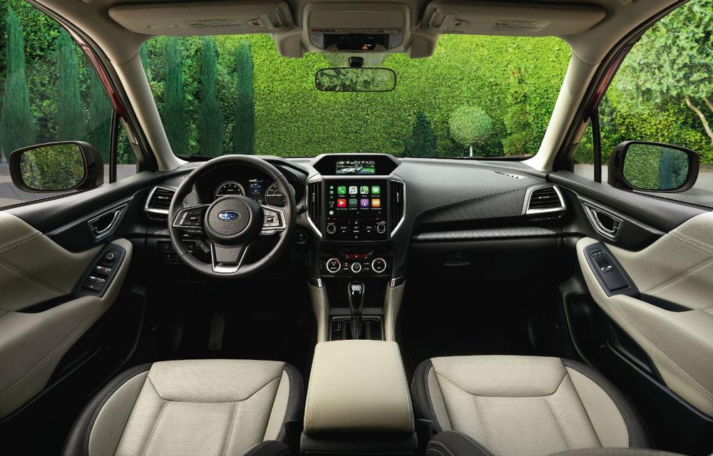 Noul Subaru Forester este aici: interior mai spațios, motoare revizuite și tehnologii de ultimă generație - Poza 2