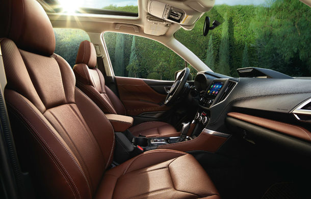 Noul Subaru Forester este aici: interior mai spațios, motoare revizuite și tehnologii de ultimă generație - Poza 9