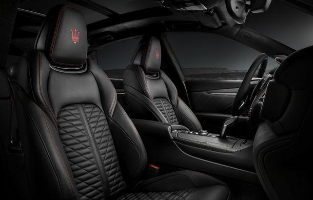Maserati Levante Trofeo: ediție limitată cu motor Ferrari V8 biturbo de 3.8 litri, 600 CP și 730 Nm - Poza 8