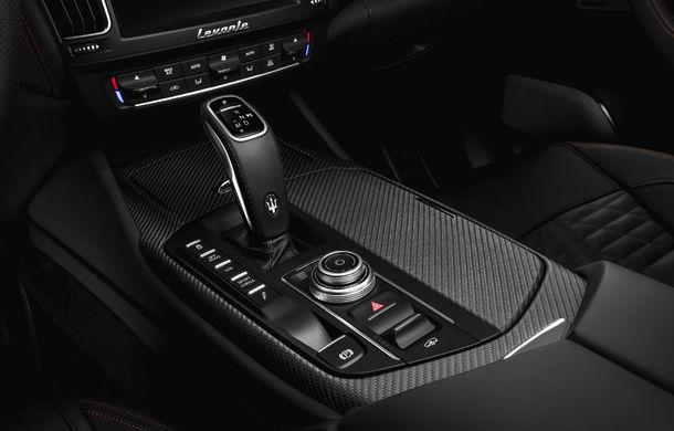 Maserati Levante Trofeo: ediție limitată cu motor Ferrari V8 biturbo de 3.8 litri, 600 CP și 730 Nm - Poza 9