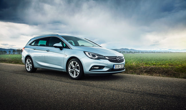 Test drive Opel Astra Sports Tourer