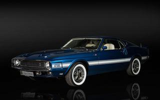 Exponate noi în cadrul galeriei Țiriac Collection: pasionații pot admira, printre altele, un Ford GT din 2005 și un Mustang Shelby GT500 din 1969