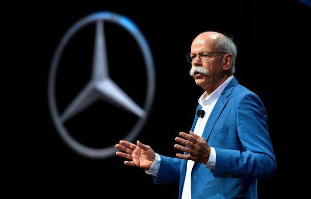"""Șeful Mercedes despre lupta cu emisiile: """"Clienții încă au încredere în motoarele diesel"""" - Poza 1"""