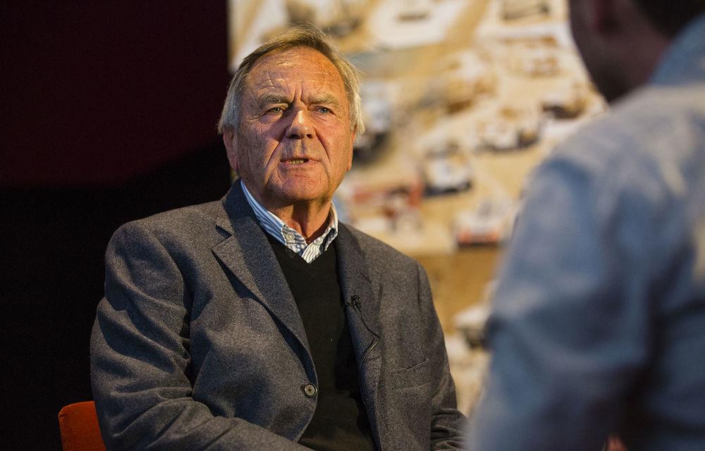 O viață în 15 panouri: Jochen Neerpasch, legenda motorsportului BMW, a fost prezent în România la dezvelirea unei picturi dedicate carierei sale - Poza 10