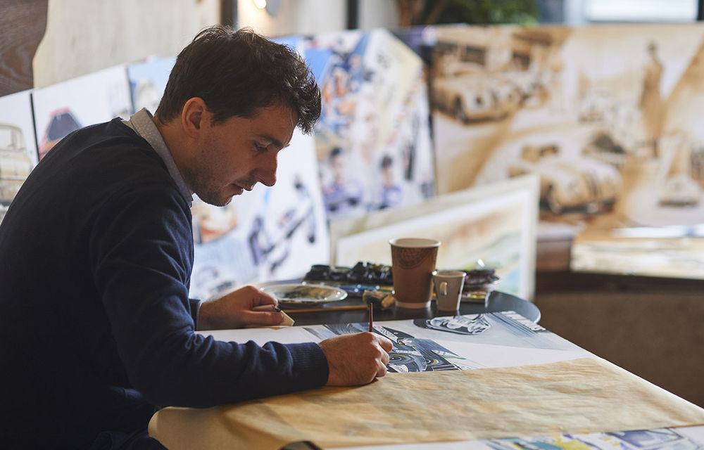 O viață în 15 panouri: Jochen Neerpasch, legenda motorsportului BMW, a fost prezent în România la dezvelirea unei picturi dedicate carierei sale - Poza 3