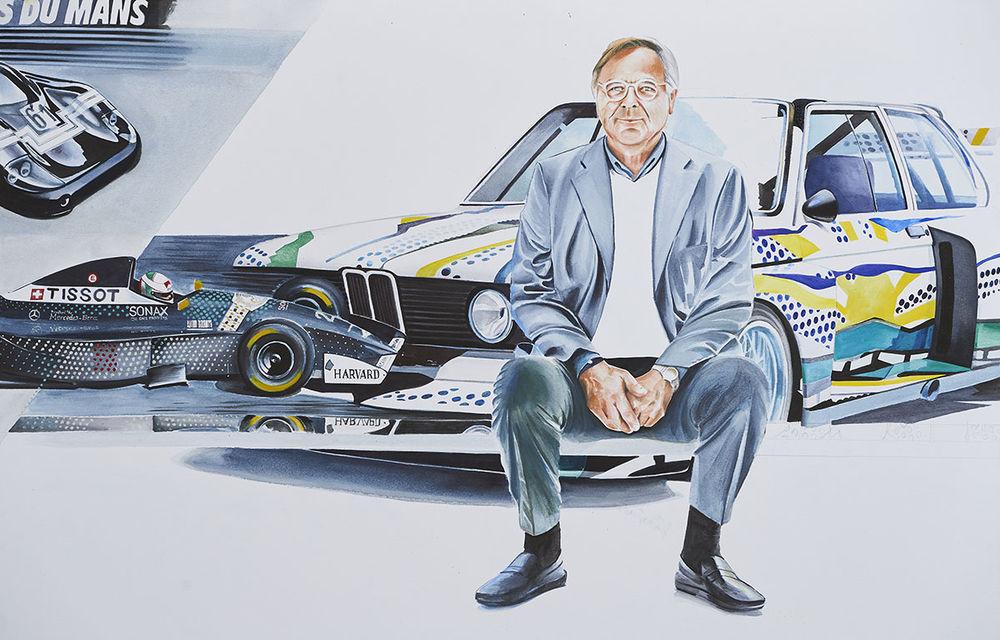O viață în 15 panouri: Jochen Neerpasch, legenda motorsportului BMW, a fost prezent în România la dezvelirea unei picturi dedicate carierei sale - Poza 14