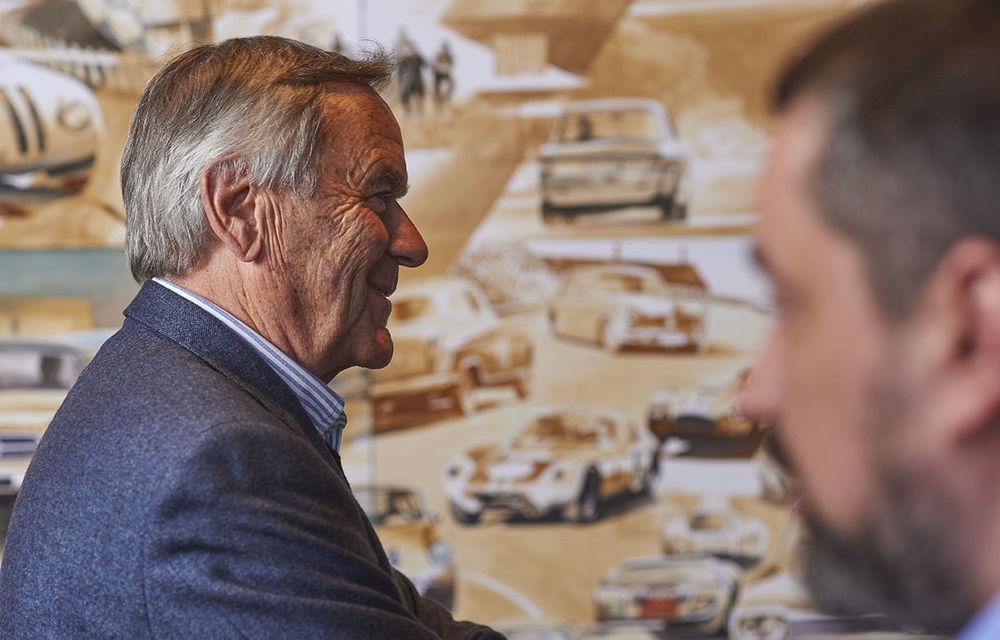 O viață în 15 panouri: Jochen Neerpasch, legenda motorsportului BMW, a fost prezent în România la dezvelirea unei picturi dedicate carierei sale - Poza 9