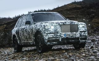 """Rolls-Royce semnează cu National Geographic: testele finale cu SUV-ul Cullinan fac parte din aventura """"The Final Challenge"""""""