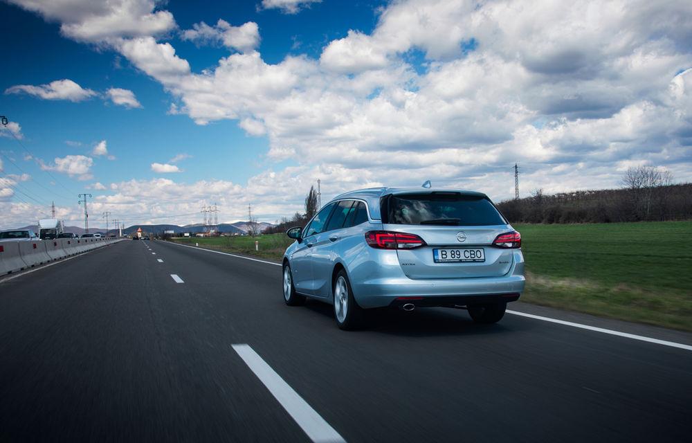 Test de consum cu Opel Astra Sports Tourer diesel: chiar și 160 de cai putere îți pot oferi un consum de 3.3 litri/100 km - Poza 16