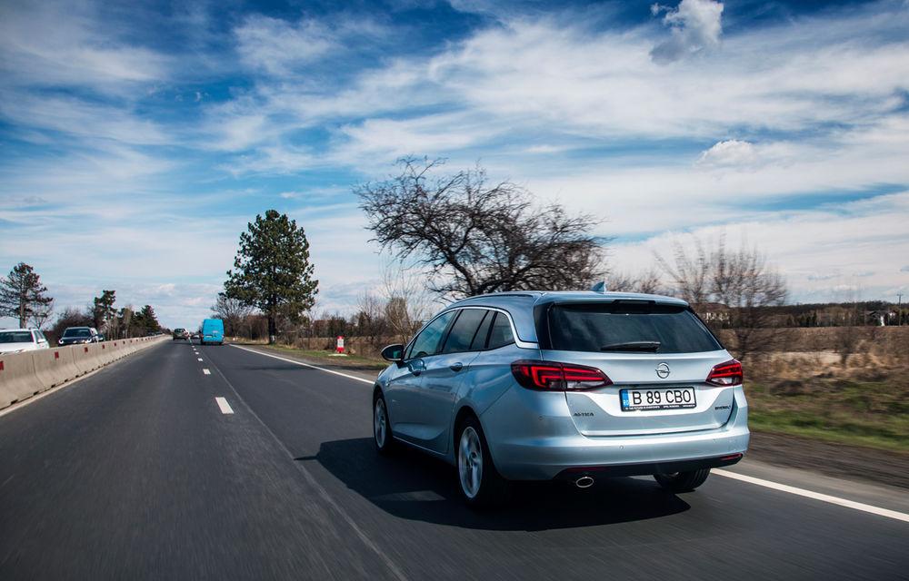 Test de consum cu Opel Astra Sports Tourer diesel: chiar și 160 de cai putere îți pot oferi un consum de 3.3 litri/100 km - Poza 4