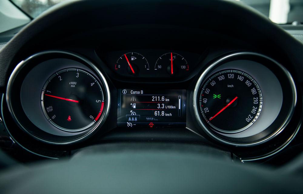 Test de consum cu Opel Astra Sports Tourer diesel: chiar și 160 de cai putere îți pot oferi un consum de 3.3 litri/100 km - Poza 14