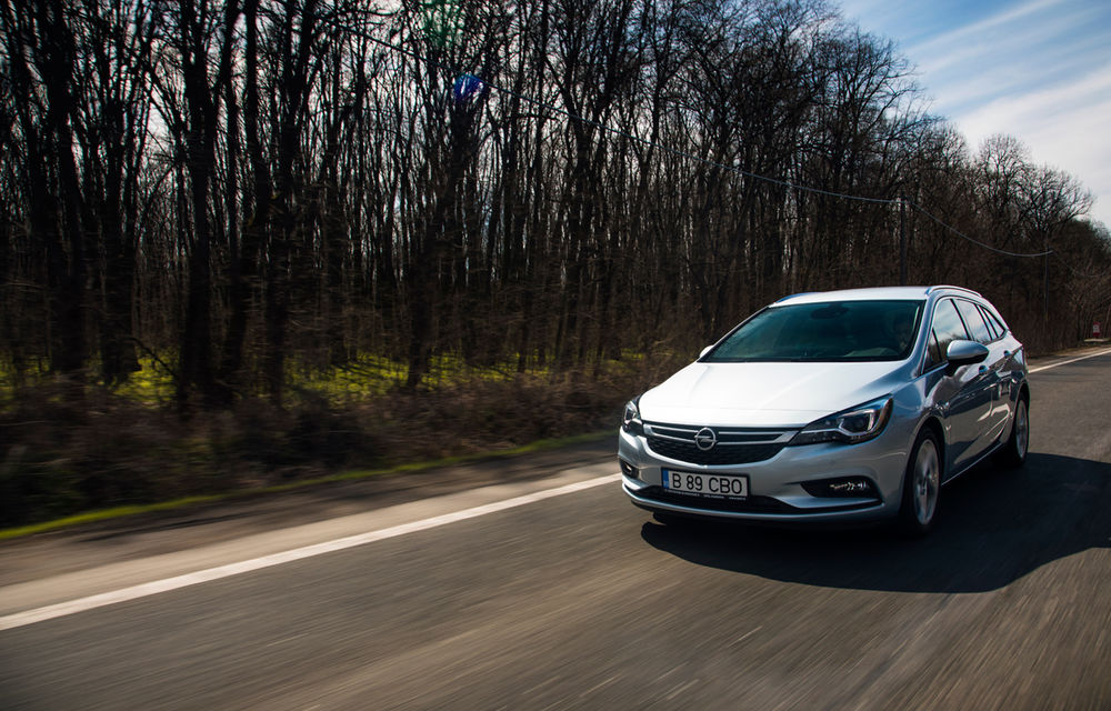 Test de consum cu Opel Astra Sports Tourer diesel: chiar și 160 de cai putere îți pot oferi un consum de 3.3 litri/100 km - Poza 7