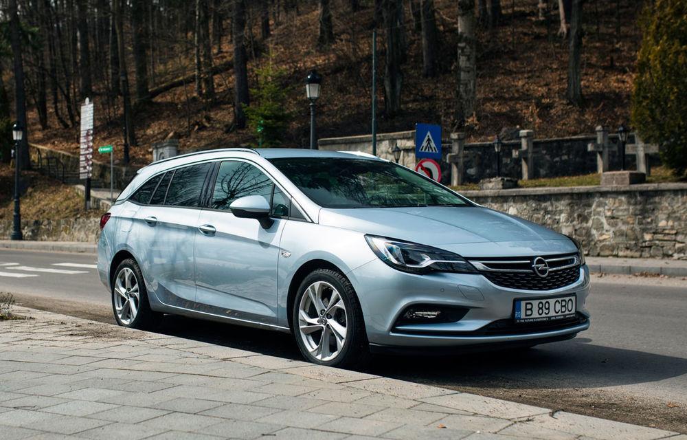Test de consum cu Opel Astra Sports Tourer diesel: chiar și 160 de cai putere îți pot oferi un consum de 3.3 litri/100 km - Poza 1