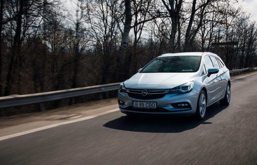 Test de consum cu Opel Astra Sports Tourer diesel: chiar și 160 de cai putere îți pot oferi un consum de 3.3 litri/100 km - Poza 3
